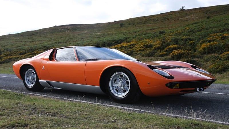 Lamborghini Miura From The Italian Job Is For Sale Automotive