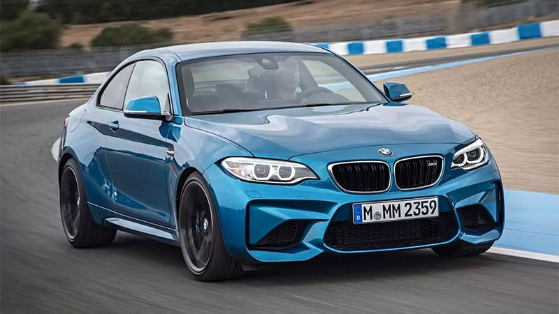 We'll finally see the BMW M2 in Detroit