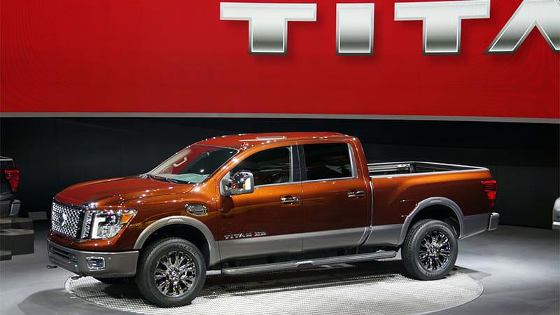 Motor Trend says 2016 Nissan Titan XD gets 17.7 mpg