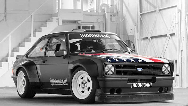 Ken Block S New Gymkhana Ride Is A 1978 Mkii Ford Escort