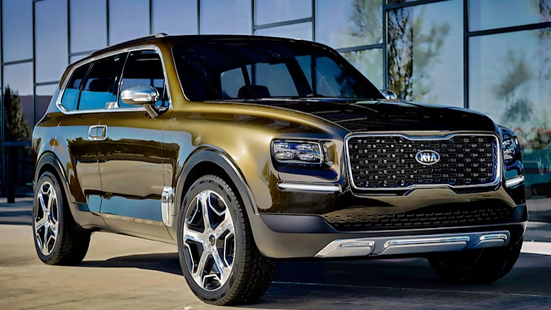 kia telluride concept is a 400 hp hybrid based on sorento. Black Bedroom Furniture Sets. Home Design Ideas