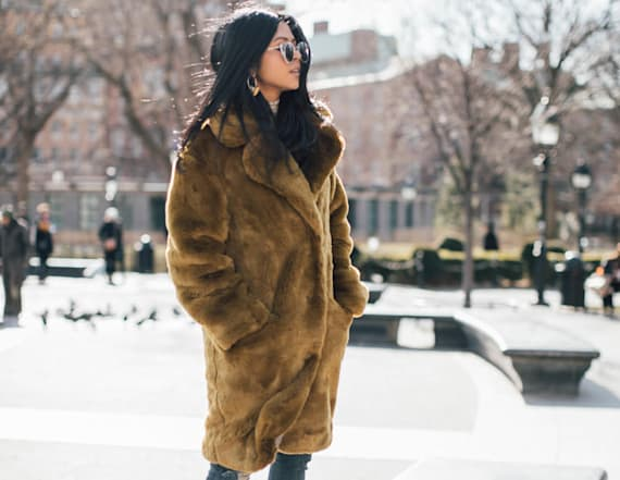 Street style tip of the day: Bundled up
