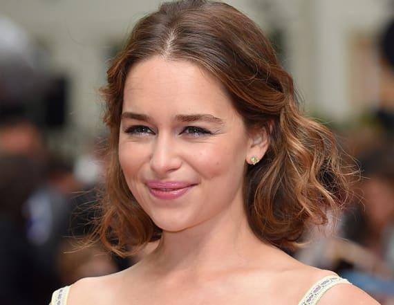 Emilia Clarke got an edgy new haircut