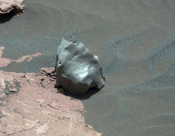 Mars Rover spots potentially rare find