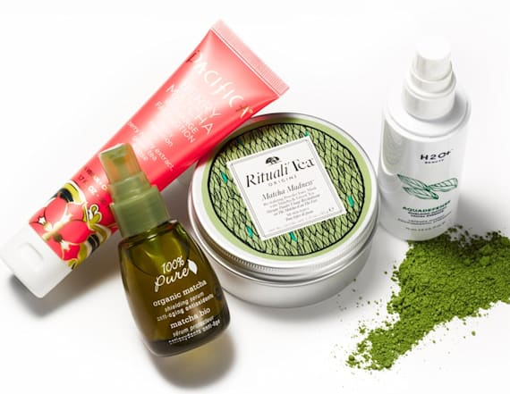Matcha beauty products to energize your skin