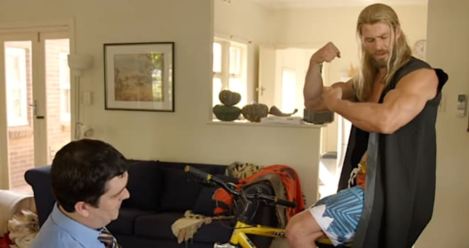 This 'Team Thor: Part 2' Clip Proves Thor & Darryl Deserve Own Marvel Spinoff