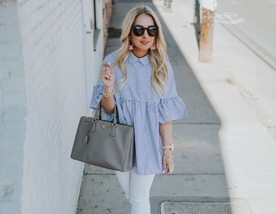 Street style tip of the day: Spring chic