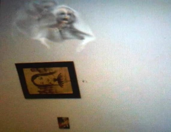 Man shares photos of alleged paranormal encounters