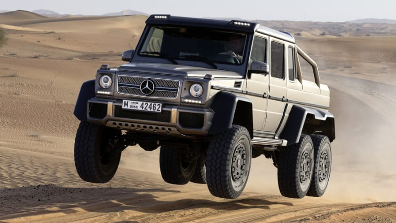 Mercedes G63 AMG 6x6 is sold out - PeachParts Mercedes-Benz