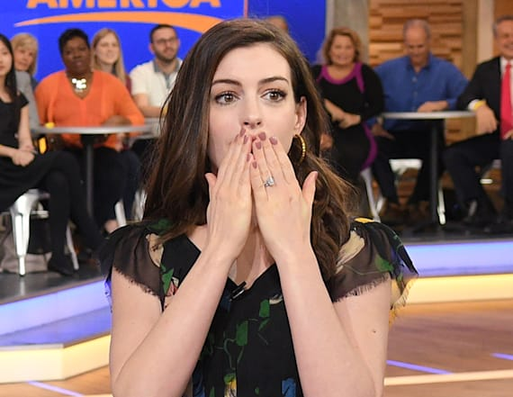 Anne Hathaway reveals she smokes weed
