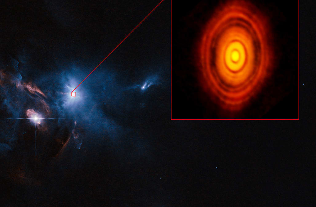 detailed planet formation image lets alma telescope show
