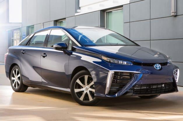 Lease Car Toyota Mirai