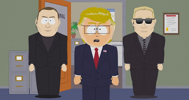 Why 'South Park' May 'Back Off' Political Satire in Trump Era