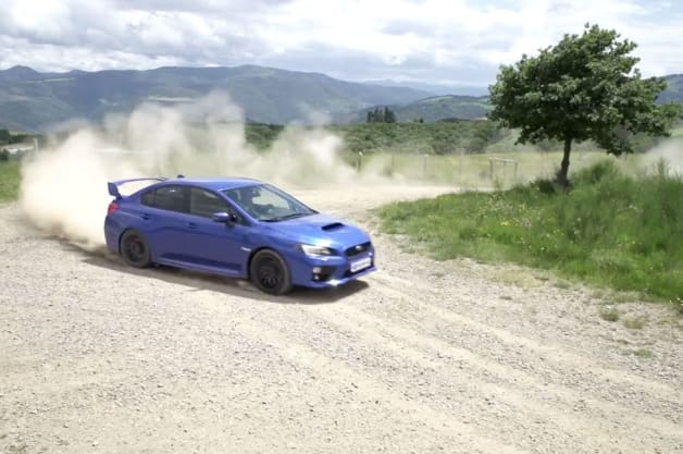 Subaru WRX STI ad