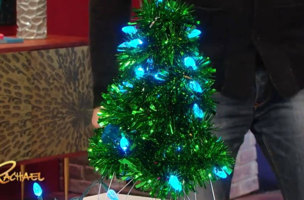 How to make a Christmas tree out of wire hangers - AOL.com
