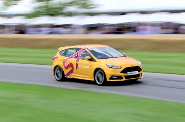 Ford Focus ST Video Ford pits The Stig against Gran Turismo 6 in Focus ST Goodwood run by Authcom, Nova Scotia\s Internet and Computing Solutions Provider in Kentville, Annapolis Valley