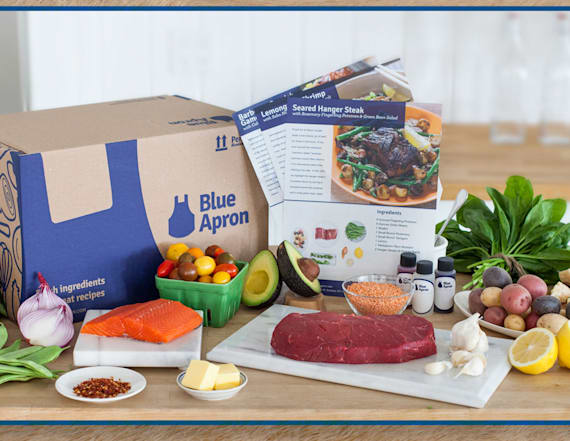 Here's how to get Blue Apron at a super cheap price