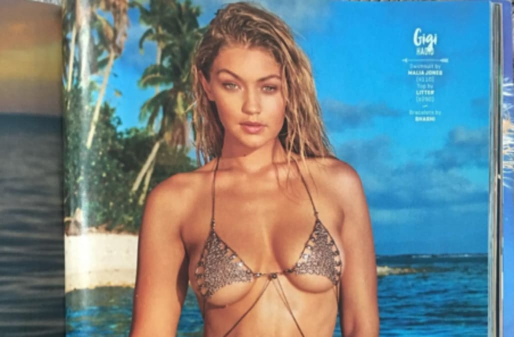 Gigi Hadid rocks barely-there two-piece in Sports Illustrated Swimsuit Issue - AOL Entertainment