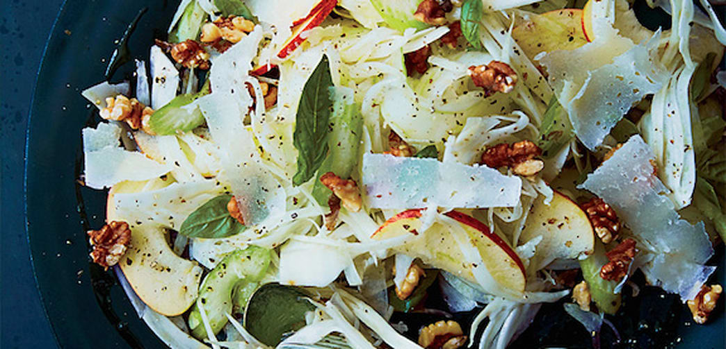 Celery, Fennel, and Apple Salad