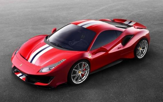 フェラーリ、V8ミドシップの新型スペシャル・モデル「488 ピスタ」を発表!