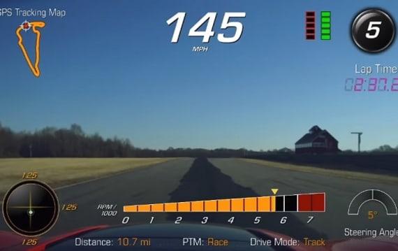 【ビデオ】シボレーの新型「コルベットZR1」、ヴァージニア・インターナショナル・レースウェイで市販車最速記録を更新!