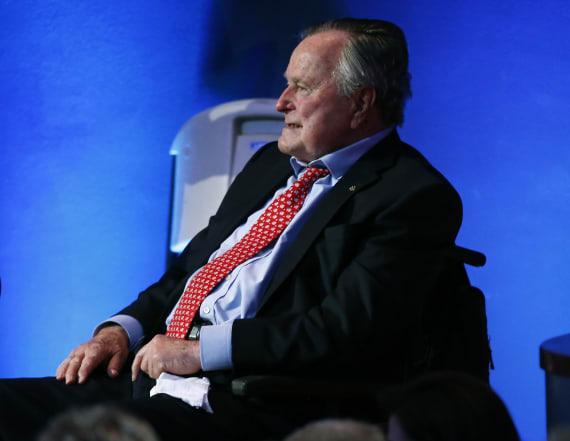 Ex-president George H.W. Bush in intensive care