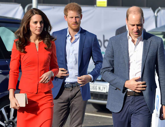 William and Kate reflect on first days with George