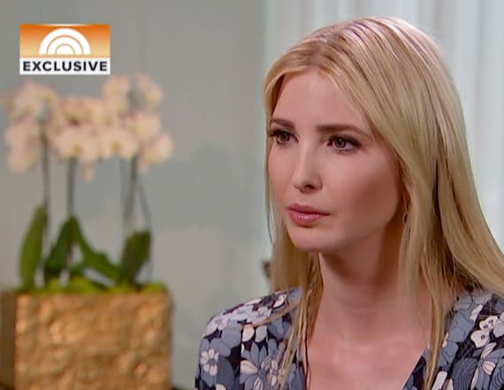 Ivanka says she does not like being called one word