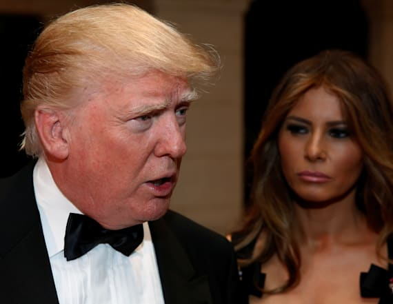 Donald Trump slams designer over Melania comments