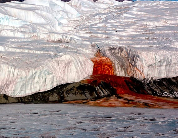 Mystery of 100-year-old Antarctic 'Blood Falls'