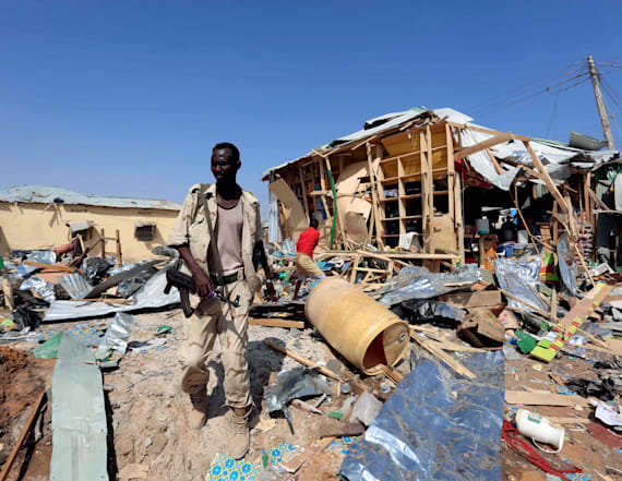 Suicide bomb in market in Somalia capital kills 39