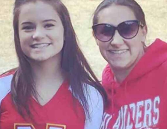 Freak accident kills teenage cheerleader on beach