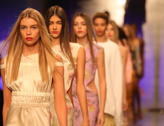 Sistine Stallone makes London Fashion Week debut