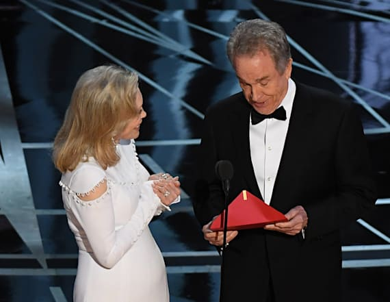 Warren Beatty breaks silence on Oscars disaster