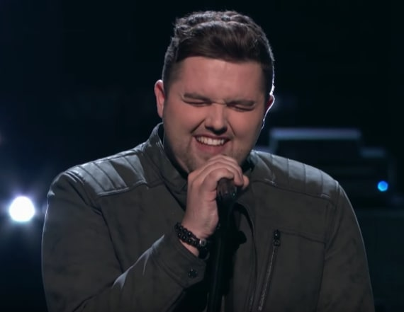 Jack Cassidy returns to 'The Voice' stage