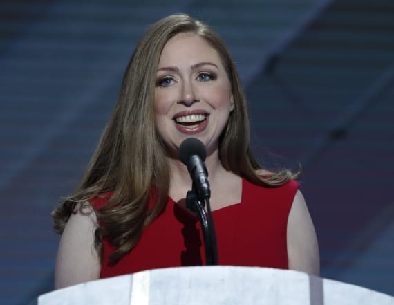 Chelsea Clinton shares fake news story on Twitter