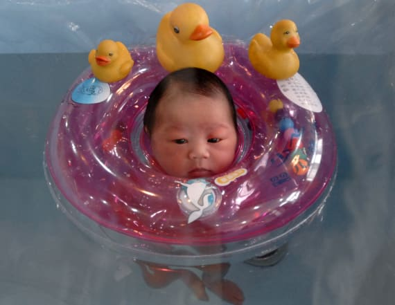 Babies can now relax at their very own day spa