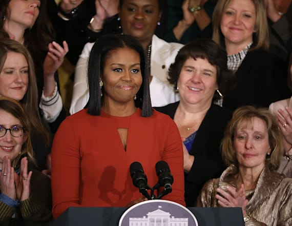 Michelle Obama tweets first message since leaving