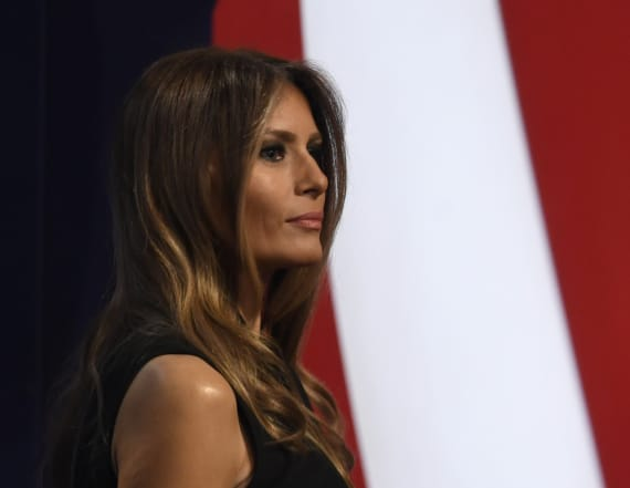 Melania Trump may have picked inauguration designer