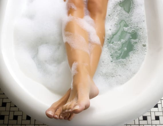 A hot bath could help you burn calories