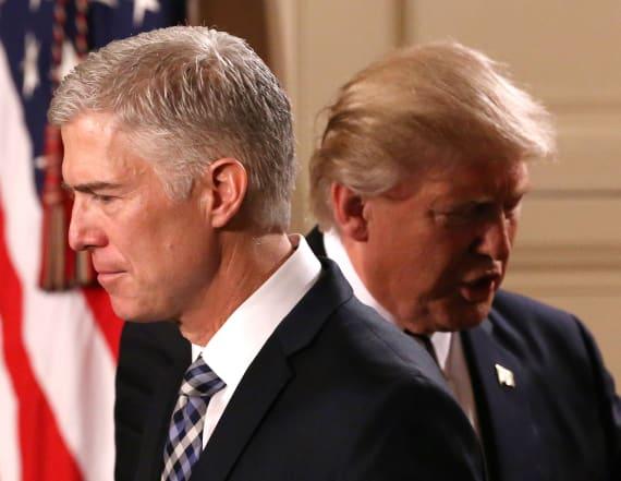 Democrats call to 'block' Trump nomination