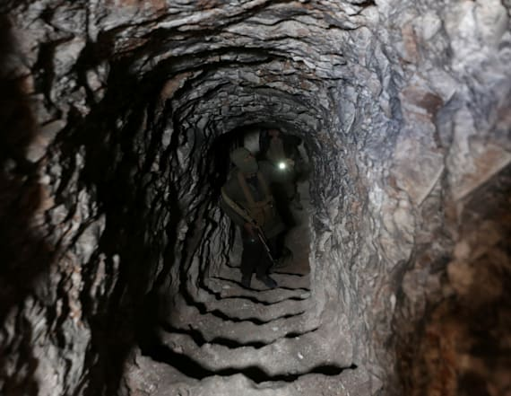 Extensive network of ISIS tunnels found