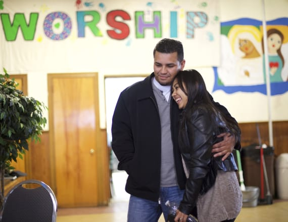 Undocumented immigrants find shelter in churches