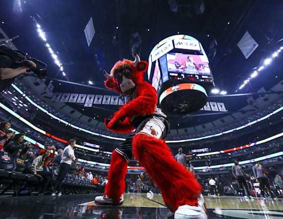 The Bulls made a tribute to 'Beauty and the Beast'