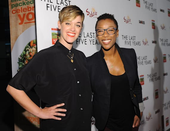 'OITNB' star and writer tie the knot