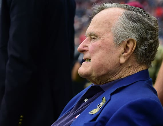 Bush writes why he can't attend inauguration