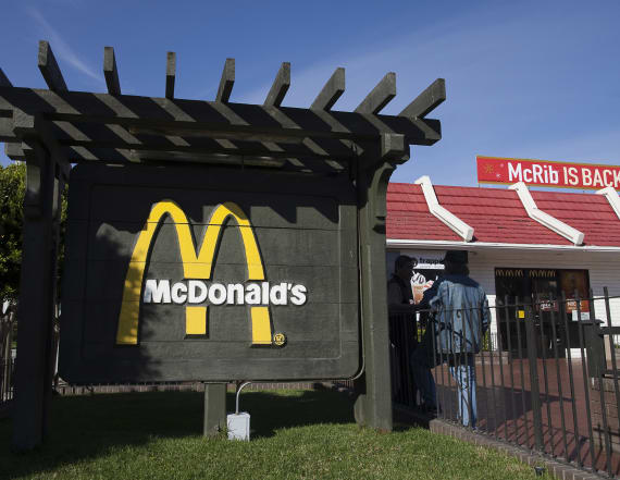94-year-old McDonald's worker gushes about her job