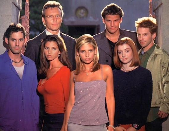 'Buffy the Vampire Slayer' cast then and now