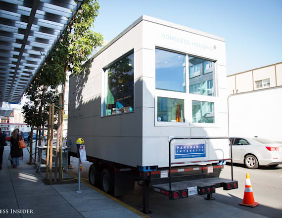 Stackable micro homes may help solve homelessness