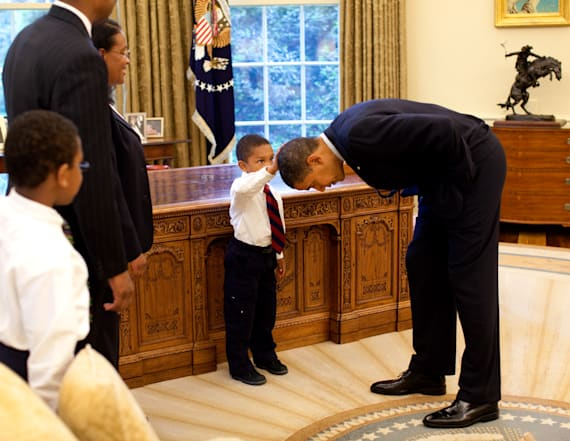 Boy in photo with Obama that went viral speaks out